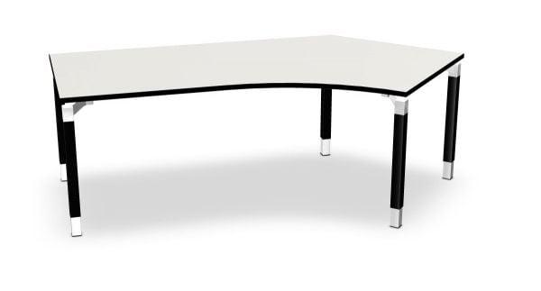 Kompakt-Schreibtisch rechts Serie dataline QQ