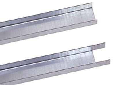 Füll-Leiste für Doppel-Stahlregale