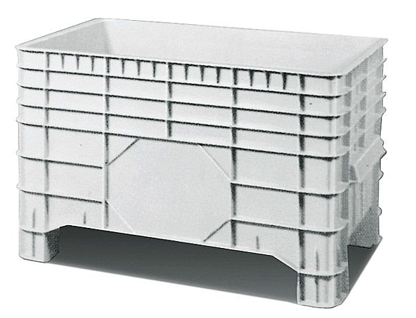 Groß-Stapelbehälter, 300 Liter Inhalt, Tragkraft 300kg, 1030x640x670mm