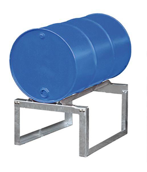 Fassbock, feuerverzinkt, für 1 x 200 Liter-Fass, B540xT755xH445mm