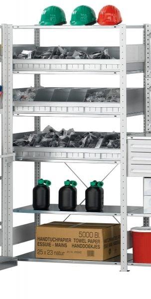 Lager-Stahlregal-Modul 2