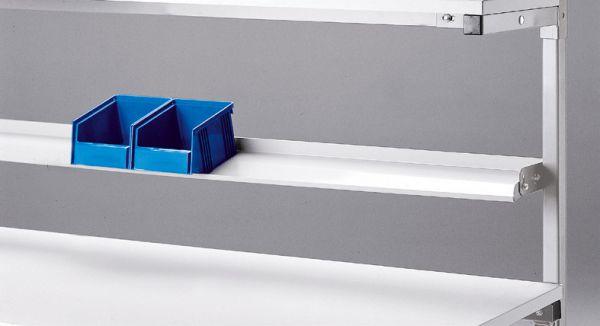 Kästenbord aus Stahlblech, lichtgrau , ESD-Version