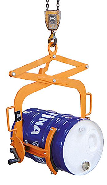 Fasswendezange für 60 L Fässer, L320 x B728 x H900mm, Tragkraft 100 kg