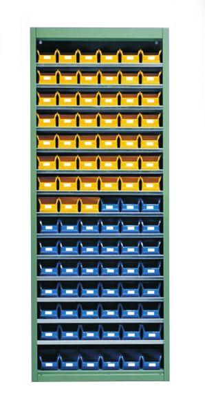 Stahl-Schrankregal mit Kästen 90 x Gr. 5