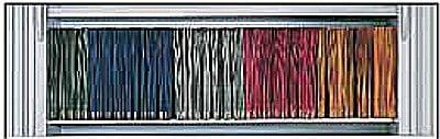 Pendelschiene für Querrollladenschränke System Leitz/Elba Serie dataline