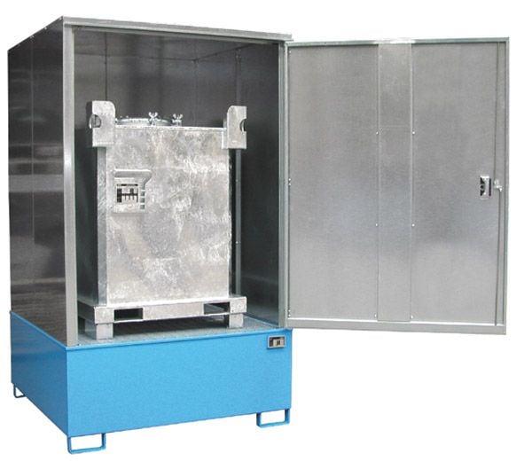 Gefahrstoff-Schrank Typ 4, B1475xT1490xH2465mm