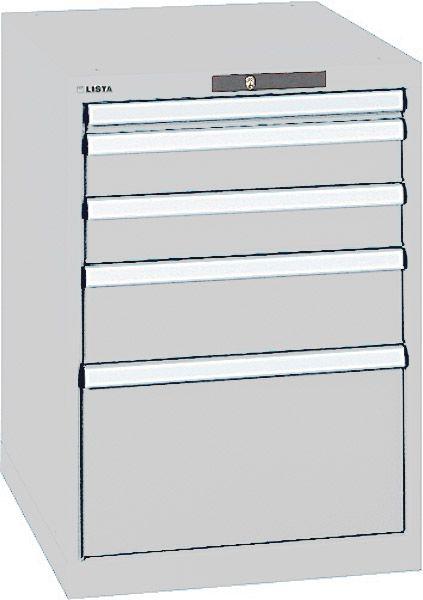 Schubladenschrank Typ 2 mit 5 Schubladen, Serie 725