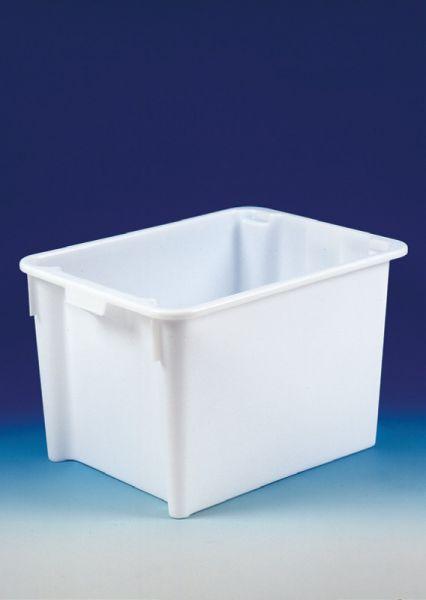 Dreh-Stapelbehälter aus HDPE, natur, B800xT600xH505mm, 170L