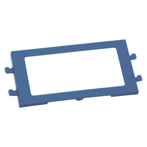 Etikettenrahmen für Mehrweg-Faltboxen MFB