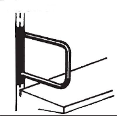 Begrenzungsbügel lichtgrau Serie K 70-BV