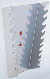 Ringschlüsselhalter für 10 Schlüssel, senkrecht, B 225/125 x T 50 x H 255mm