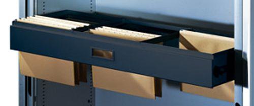 Hängerahmen, voll ausziehbar für DIN A4, anthrazitgrau, für B 800mm