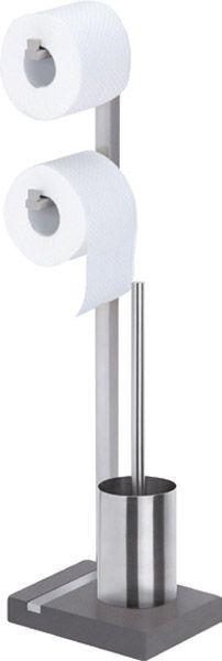 blomus WC-Rollenhalter Ständer, B200xT150xH730mm, Edelstahl