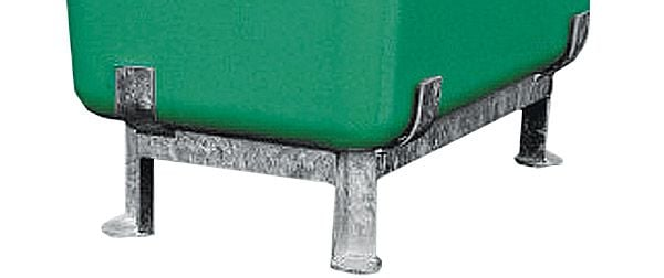 Stahlfußgestell für GFK-Behälter 400 Liter Inhalt