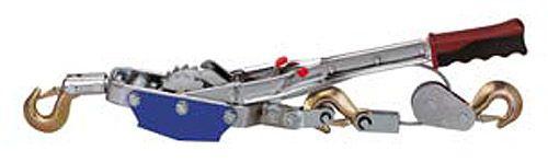 Hand-Seilzug mit Ratsche, mit 3 Meter Seil, ø 6mm, max. Zuglast 4.000kg
