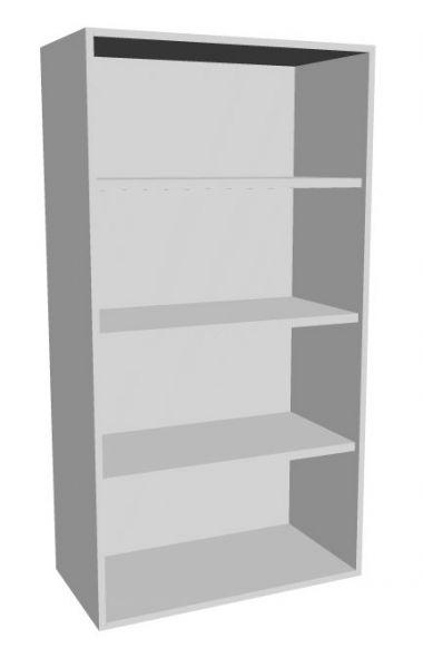 Aufsatz-Schrankregal 4 Ordnerhöhen 800mm breit Serie dataline