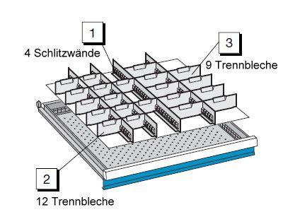 Set Trennwände, Serie 725