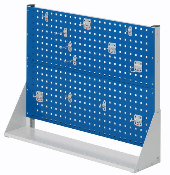 Tisch-Ständer Typ 2A, einseitig beStückt, B 1000 x T 240 x H 760mm