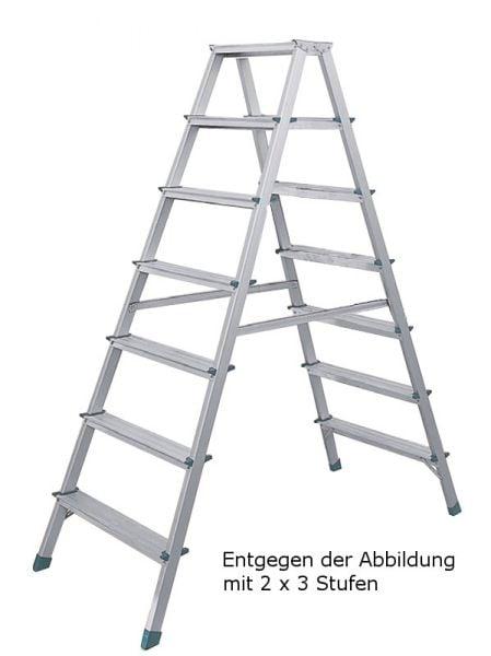 ALU-Stufen-Stehleiter