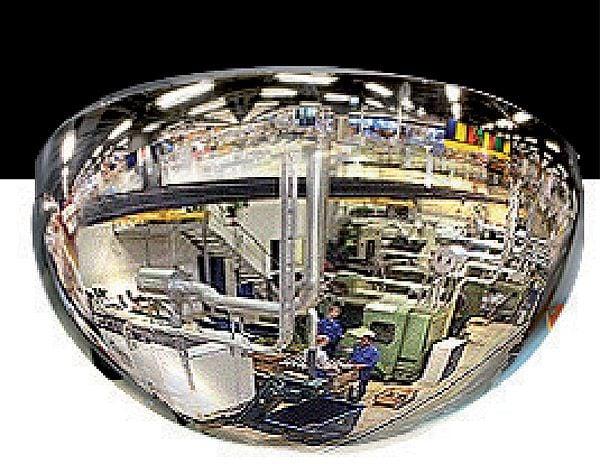 Kuppelspiegel Typ KS, 180°, Acrylglas