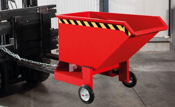 Kipp-Kastenwagen 400 l, B 930 x T 1440 x H 1000mm, Tragkraft bis 600 kg