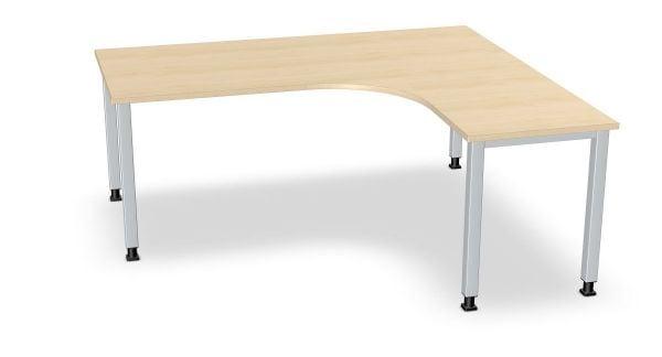 Winkel-Schreibtisch, Winkel rechts, Serie dataline QS