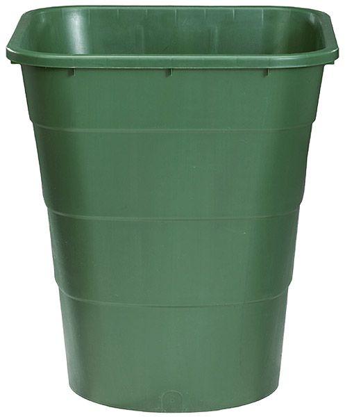 Rechteckbehälter, 520 L, grün, B 1240 x T 800 x H 930mm