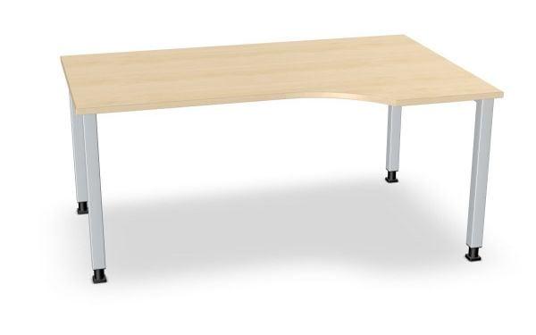Winkel-Schreibtisch rechts, Serie dataline-QS