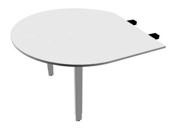 Besprechungsansatz mit 2 Standbeinen Anbau links Serie pensum U