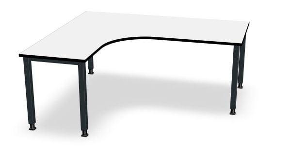 Assmann Winkel-Schreibtisch, Winkel links, Serie dataline QS