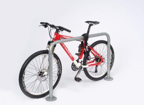 Fahrrad-Anlehnbügel - Bauform 1, zum Aufdübeln