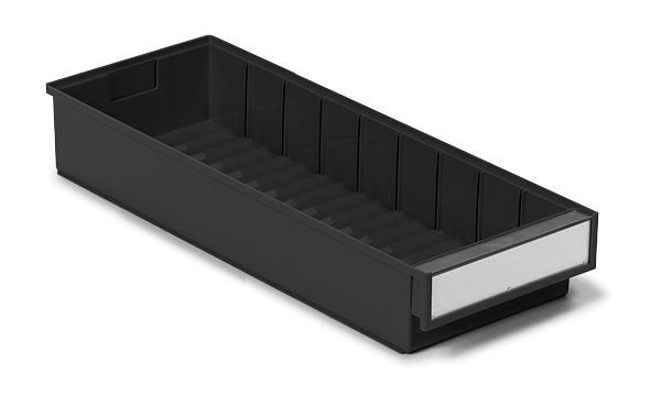 Kunststoff-Schubkasten, ESD, 186x500x82mm
