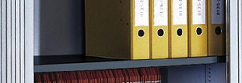 Stahl-Einlegeboden, zusätzlich, anthrazitgrau, 24 mm hoch für B 1000mm