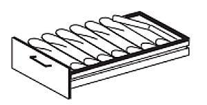Formulareinsatz, 6 x Fächer DIN A 4