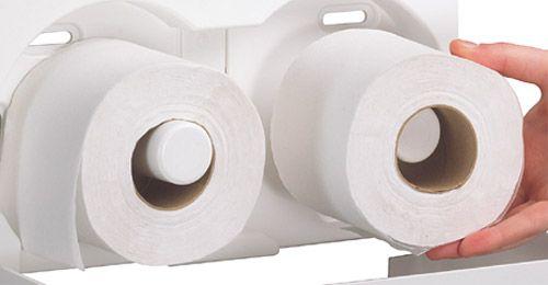 Pack = 8 Kleenex Toilettenpapierrollen, Blattlänge je 125mm