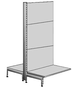 Verkaufs- und Lager-Regal, Serie SB60