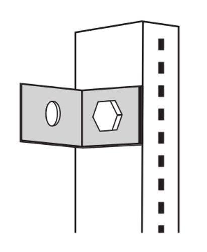Wandverbinder verzinkt Serie K 70-BV