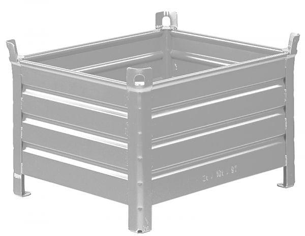 Stahlblech-Stapelbehälter 1000x800x600mm