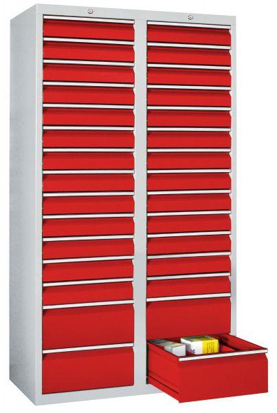 Schubladenschrank, 30 Schubladen, Serie 501-18