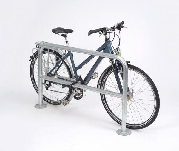Fahrrad-Anlehnbügel - Bauform 2, zum Aufdübeln