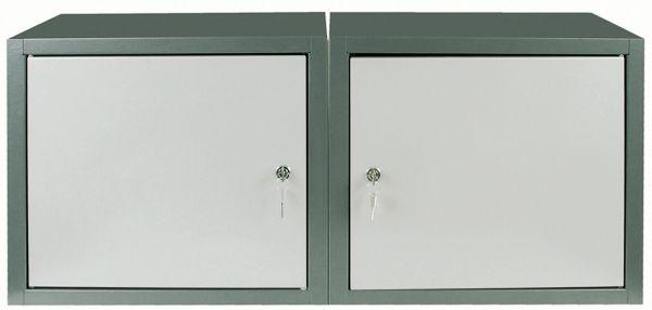 Flügeltürschränke, VE = 2 Stück für Werkstattcenter Praktimo