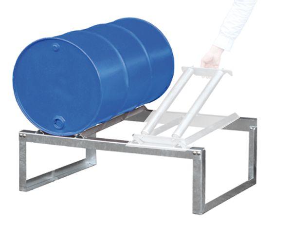 Fassbock, feuerverzinkt, für 2 x 200 Liter-Fass, B1155xT775xH445mm