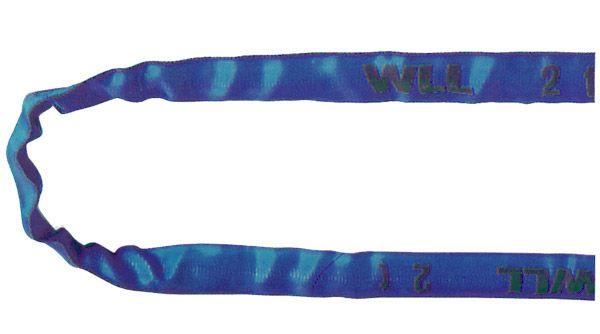 Rundschlinge, blau, Nenntragfähigkeit 8 t
