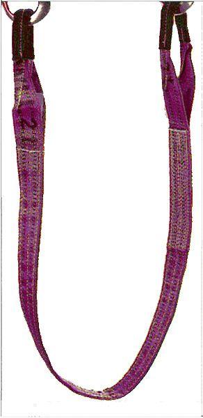 Hebegurt, violett, Bandbreite 30mm, Nenntragfähigkeit 1 t