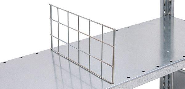 Drahtgitter-Stecktrennwände für Regale S40