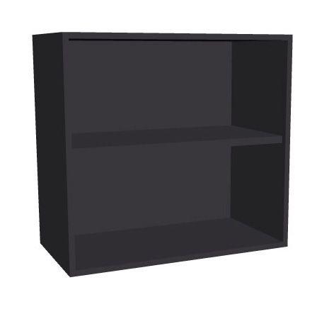 Aufsatz-Schrankregal 2 Ordnerhöhen 800mm breit Serie dataline