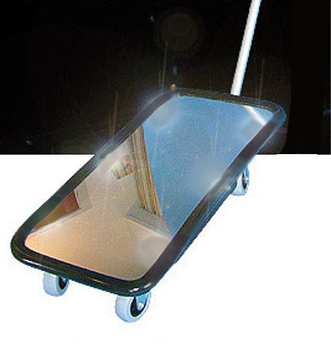 Kontollspiegel Typ KS 1 ohne Beleuchtung, Acrylglas, 200 x 400mm