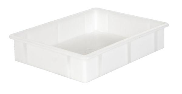 Muschelgriff-Stapelkasten, Inhalt 10 Liter
