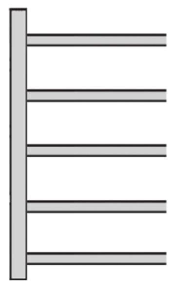 Schrägboden-Regal Typ 2, Serie S25-STS