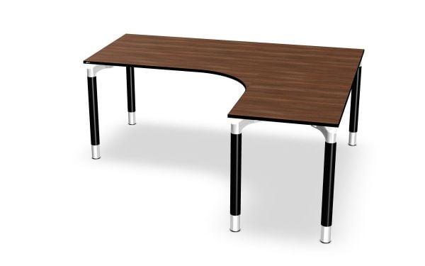 Assmann Winkel-Schreibtisch rechts, Serie dataline RQ